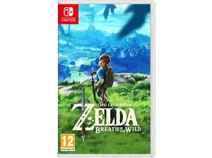 Zelda breath of the wild (Fysieke versie) Switch