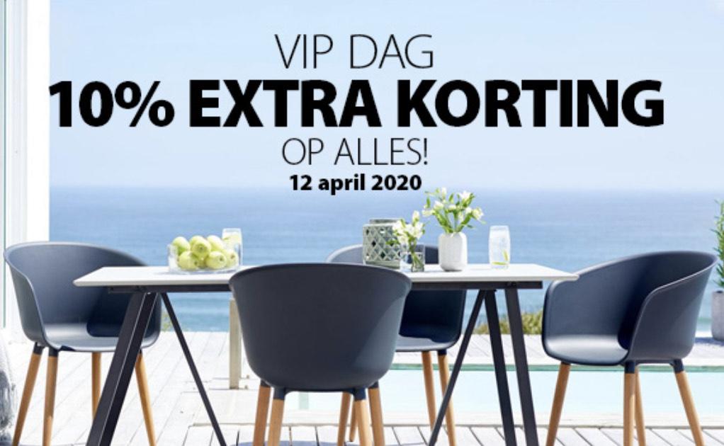VANDAAG by JYSK 10% extra korting voor jou