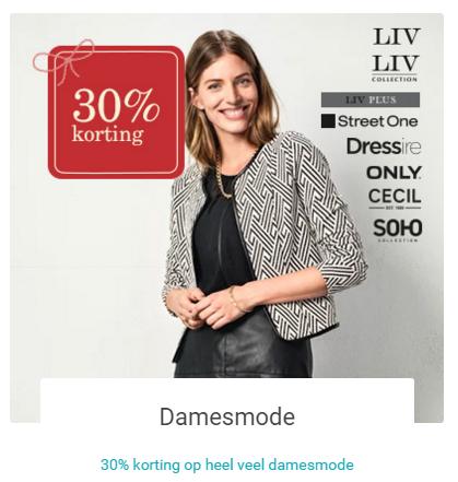 30% - EXTRA - korting @ V&D (diverse merken)