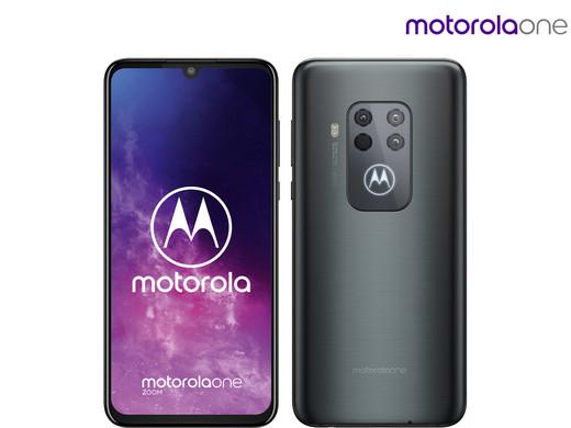Motorola One Zoom (Grijs)