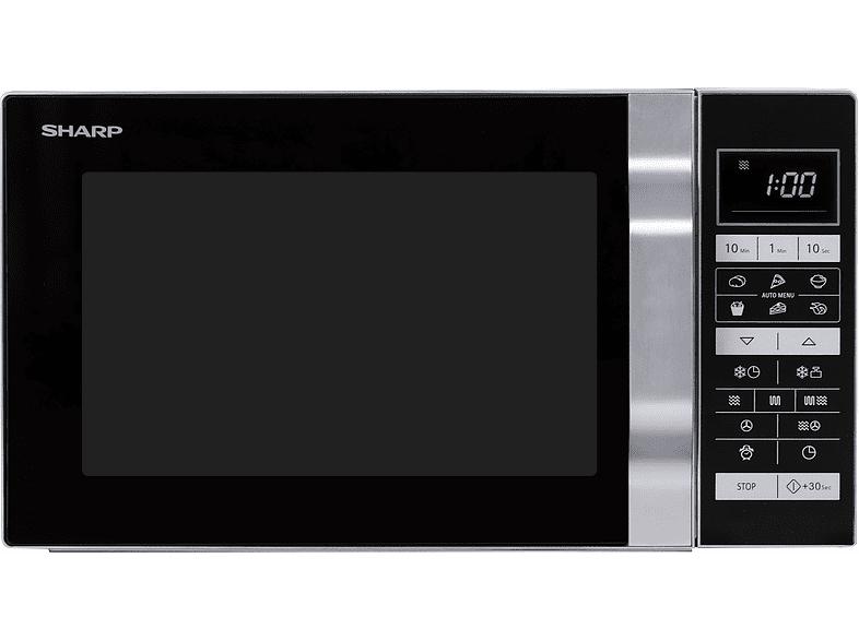Sharp R860 Zilver 900 watt vrijstaande combimagnetron @ Media Markt