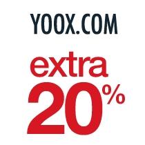 20% EXTRA korting +  GRATIS verzending @ YOOX (bij betaling met PayPal)