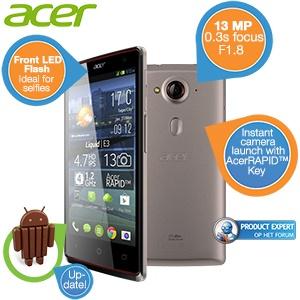Acer Liquid E3 Duo smartphone voor €155,90 @ iBOOD
