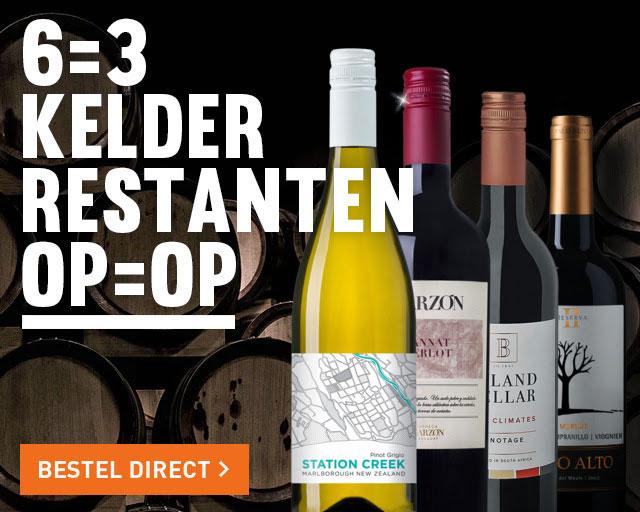 Kelderrestanten wijn 6=3 @ Gall & Gall