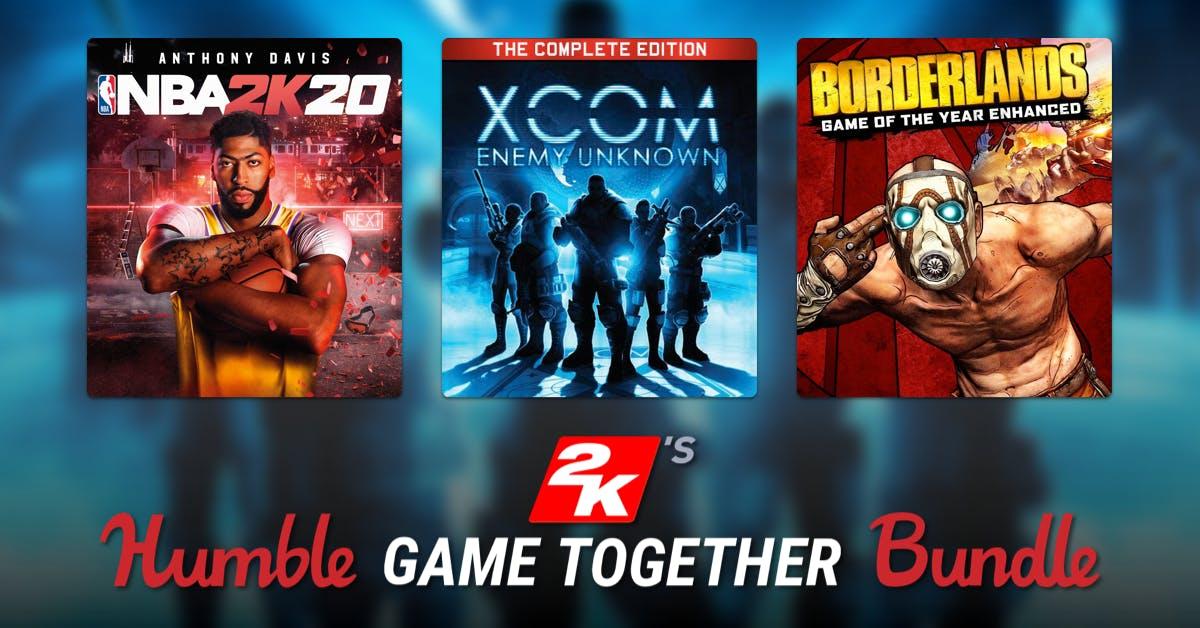 Humble Bundle - 2K's Game Together Bundle met o.a. The Darkness II, BioShock: The Collection en Borderlands