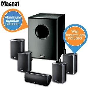 Magnat Needle Alu 5000X1 speakerset voor €278,90 @ iBOOD