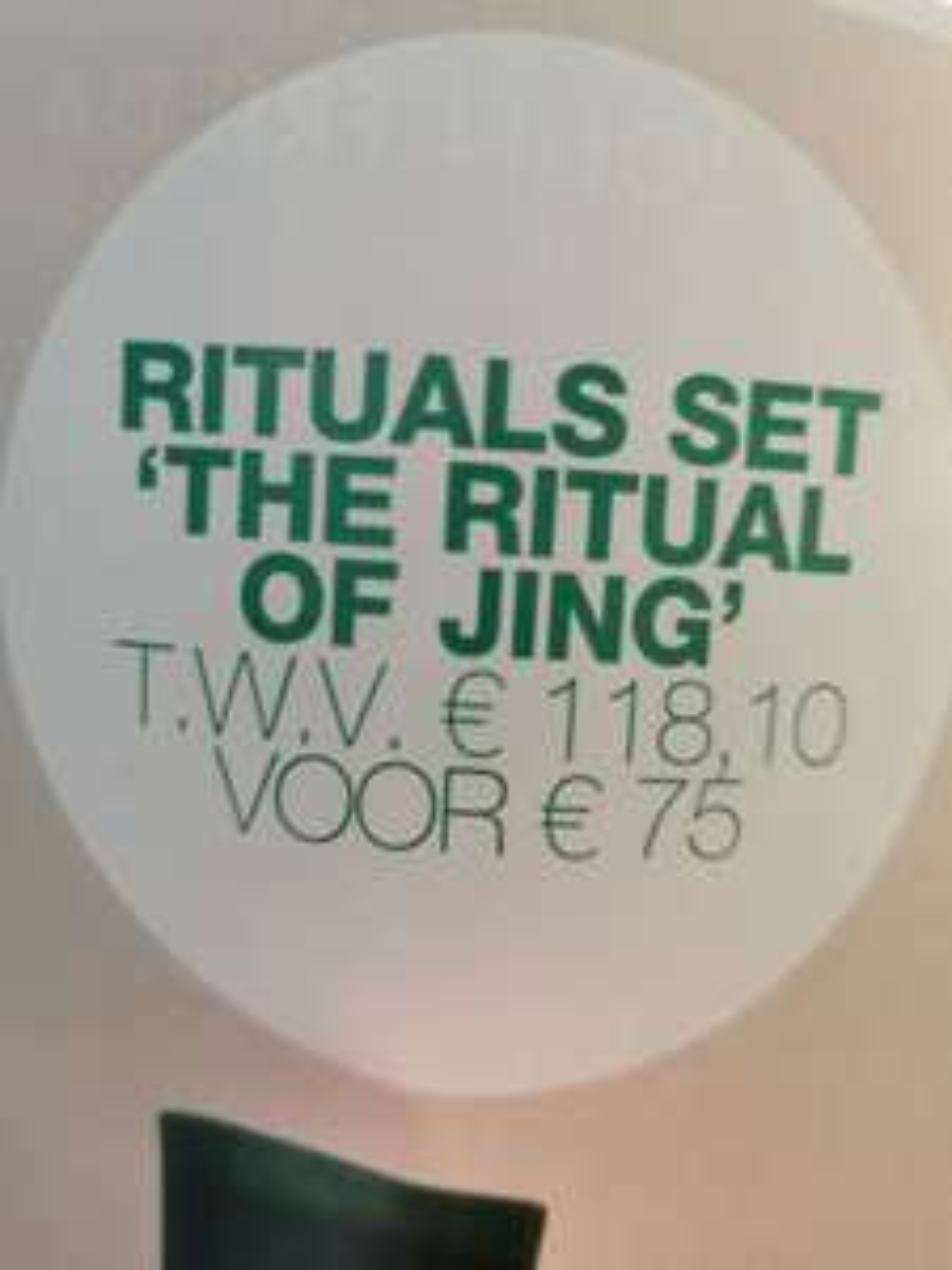 Rituals set The Ritual of Jing voor € 75