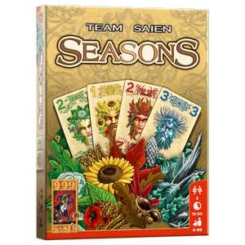 Kaartspel Seasons van 999 Games 4,99 bij Trekpleister