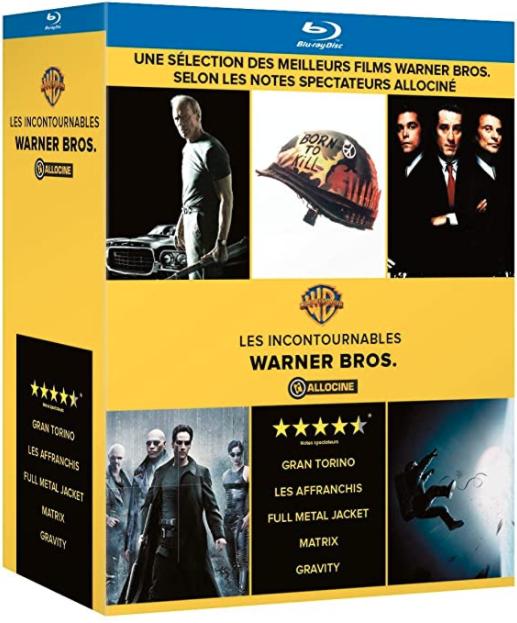 Box met mooie films op blu-ray (Full Metal Jacket, The Matrix, Gran Torino, Gravity en Goodfellas) - €16,83 @ Amazon.nl