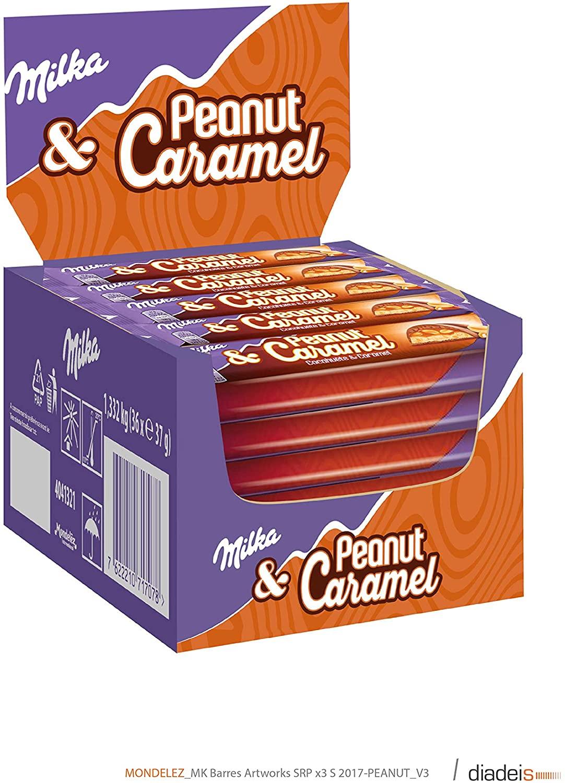Prijsfout Milka Peanut Caramel 36x Amazon.nl