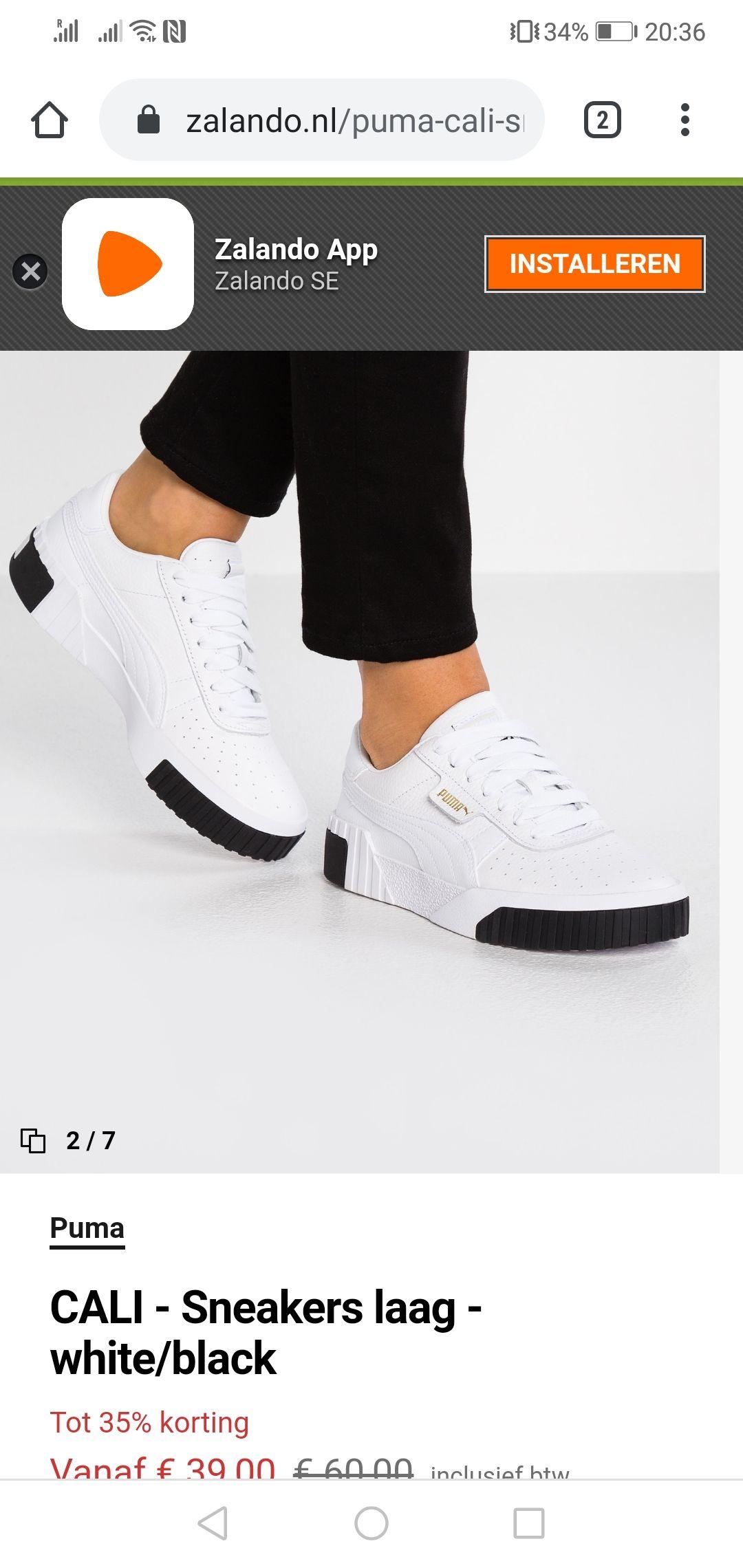 Dames Puma schoenen (maat 37)
