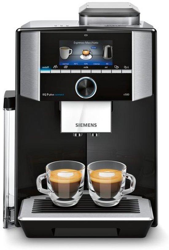 Siemens EQ.9 plus s500 Aanrechtblad Filterkoffiezetapparaat 2,3 l Volledig automatisch