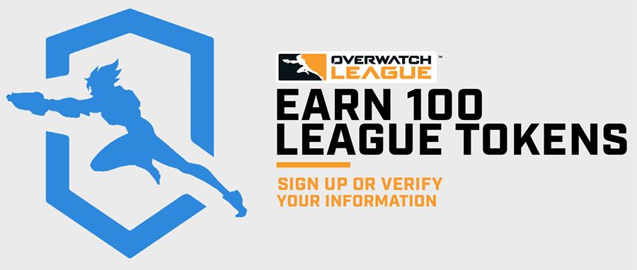 Gratis 100 Overwatch League Tokens