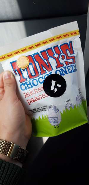 [Lokaal - Zwolle] Tony's Chocolonely paaseieren