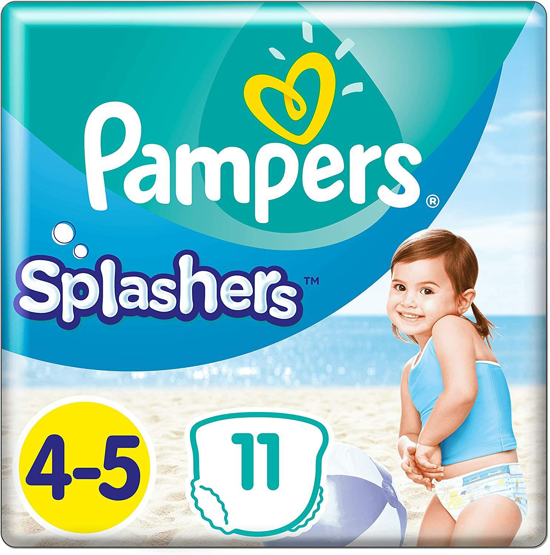 Pampers splashers 4-5 4x11 stuks