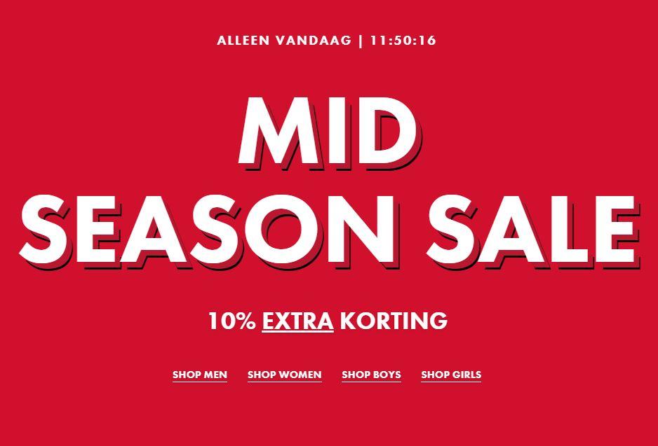 Vandaag 10% EXTRA korting op SALE @ WE Fashion