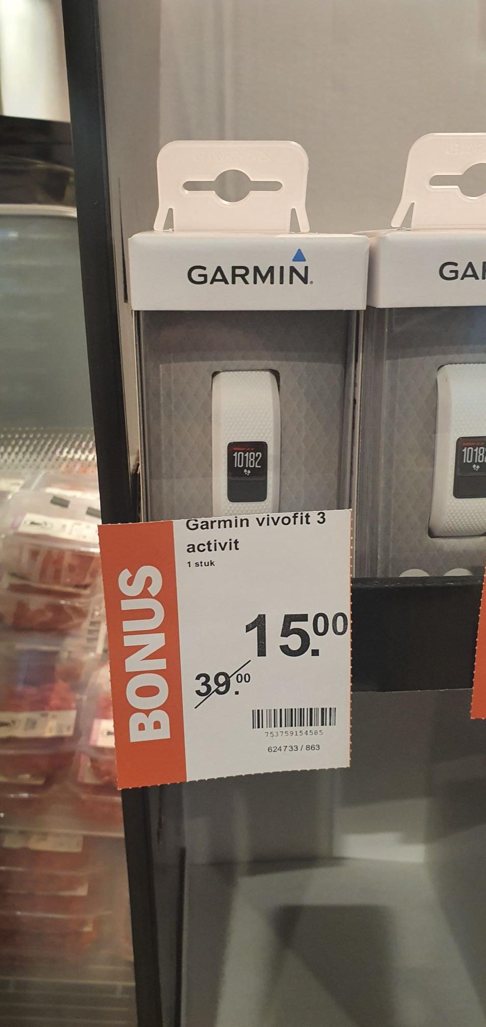 Lokale aanbieding Garmin Vivofit 3 wit