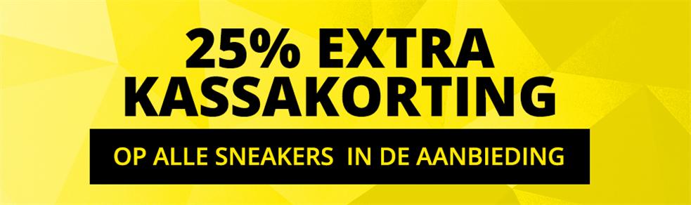 [UPDATE] 25% extra korting op sneakers in de sale @ Front Runner