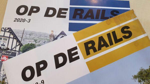 """Voor treinliefhebbers: ontvang het blad """"Op De Rails"""" tijdelijk gratis digitaal"""