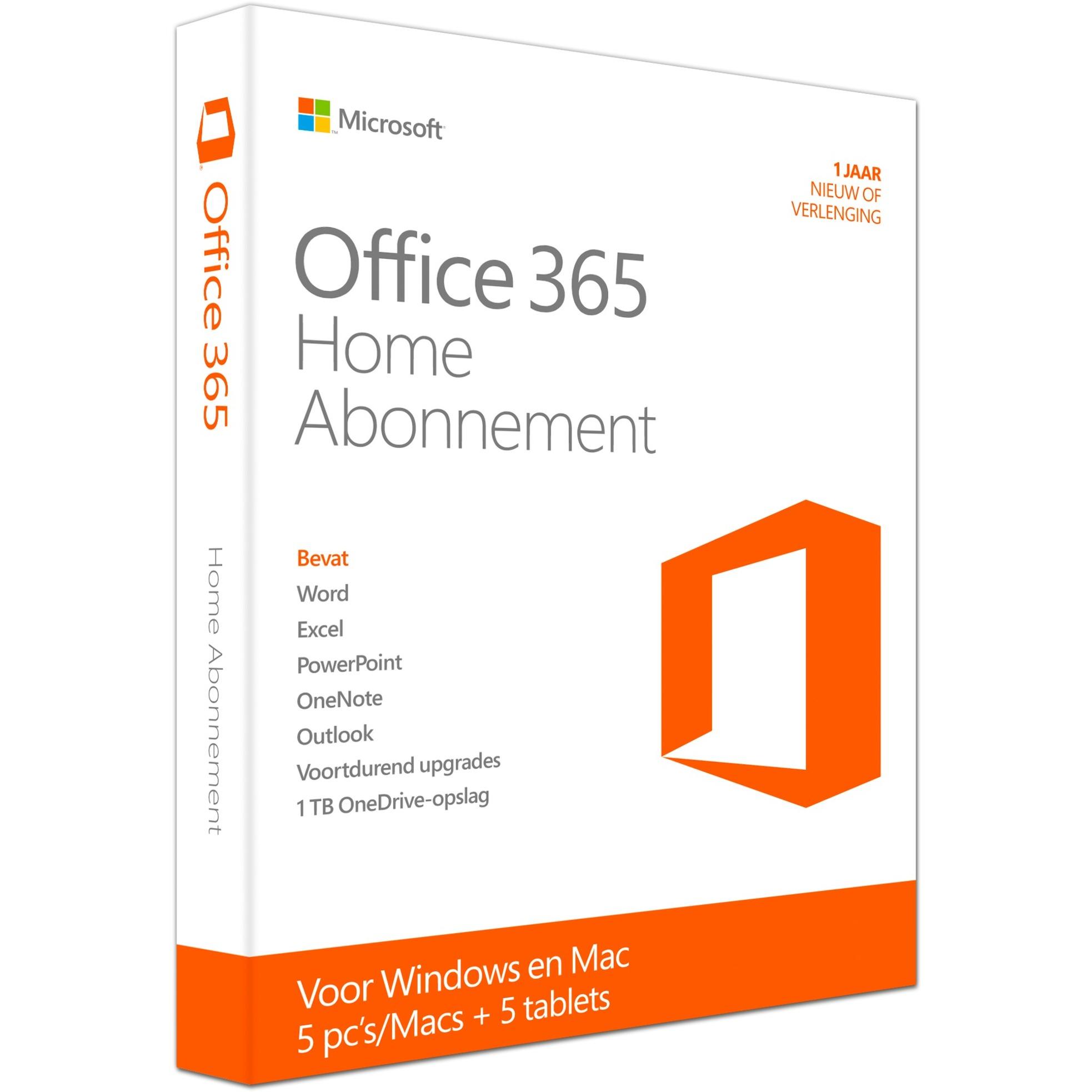 Microsoft Office 365 Home voor €49,- @ Alternate