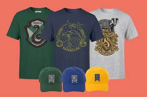 Harry Potter T-Shirt + Pet à €13,99 per bundel bij Zavvi NL (normaal €29,98)