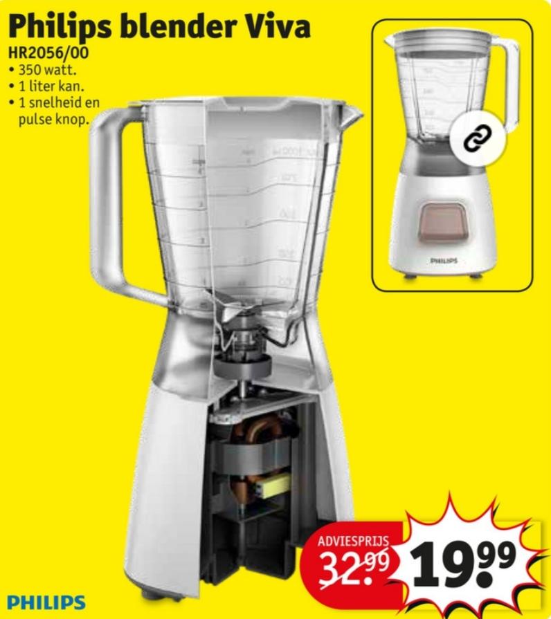 Philips Viva HR2056/00 Blender @ Kruidvat (winkels)