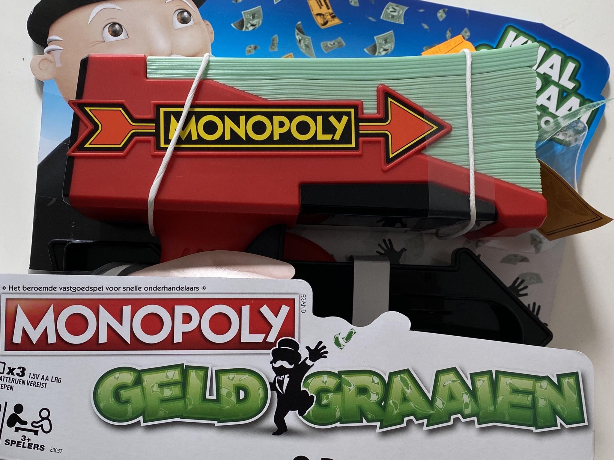 [Lokaal] Monopoly geld graaien