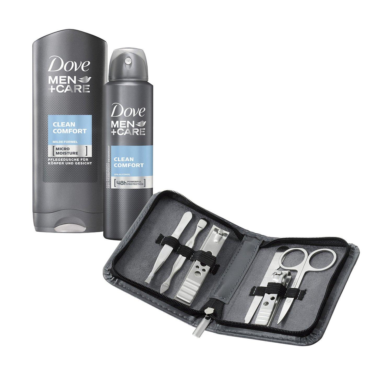 Dove Men+Care geschenkset met nagelknipper-set voor €6,50 @ Amazon.de