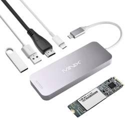 Minix USB-C hub : oa voor MacBook, met INGEBOUWDE 240Gb SSD