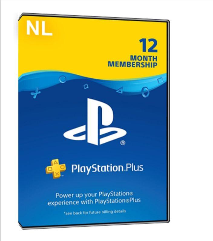 PlayStation plus 1 jaar NL
