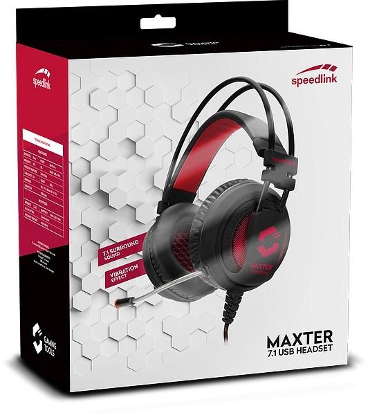Speedlink MAXTER - 7.1 Surround USB Gaming Headset @ Direct Sale