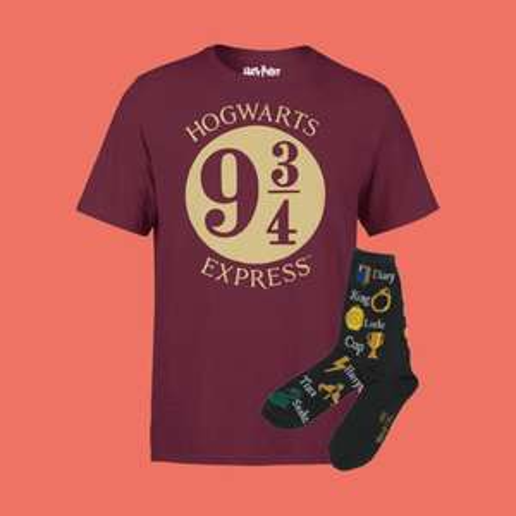 Harry Potter T-Shirt & Sokken + Gratis verzending @ Zavvi