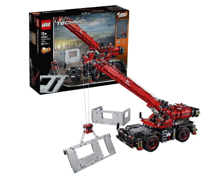 Lego Technic Lego Technic Kraan Voor Alle Terreinen - 42082, Multicolor