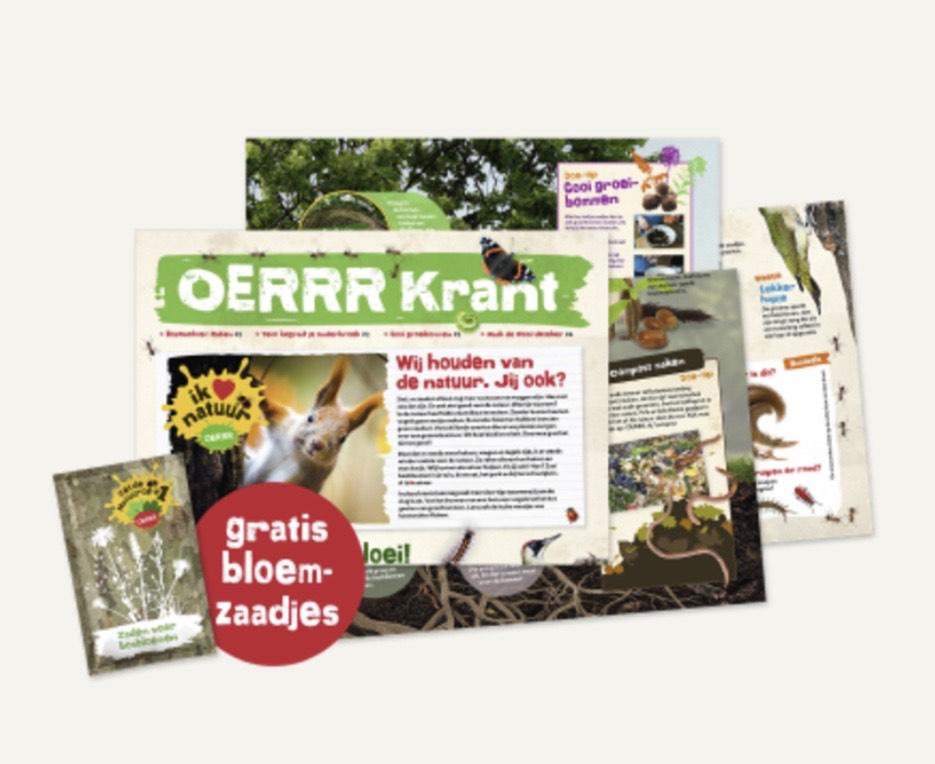 Gratis OERRR actiepakket met bloemzaadjes