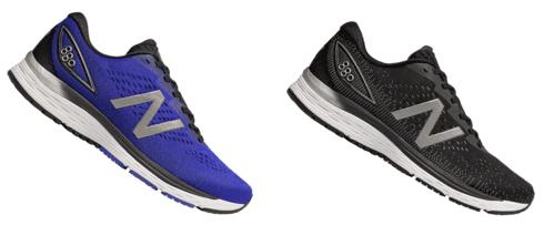 New Balance 880 v9 hardloopschoenen blauw/grijs of zwart/grijs voor €83,96