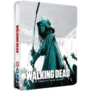 The Walking Dead: Season 3 - Limited Edition Steelbook Blu-ray @ Zavvi