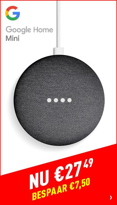 Google Home Mini (Charcoal) - UK Plug