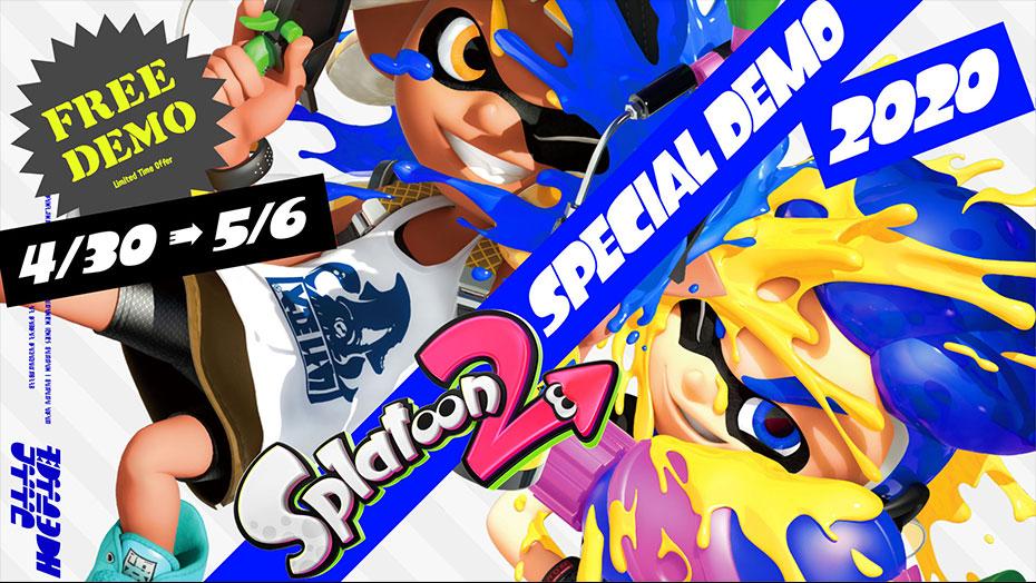 Splatoon 2: Speciale Demo - Nintendo Switch (en 7 dagen Nintendo Online?) vanaf 30 april