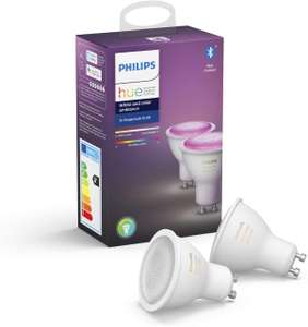Philips Hue White and Color Ambiance - GU10 Duopack