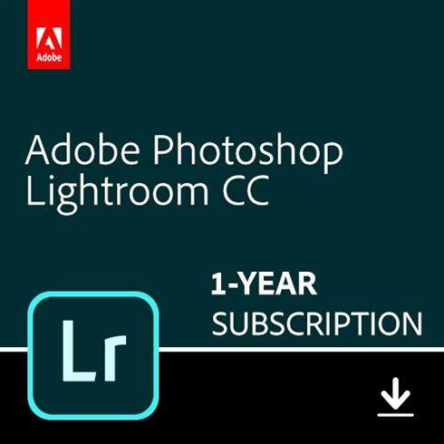 Adobe Lightroom CC - 1TB - 1 gebruiker - 1 Jaar (Download)