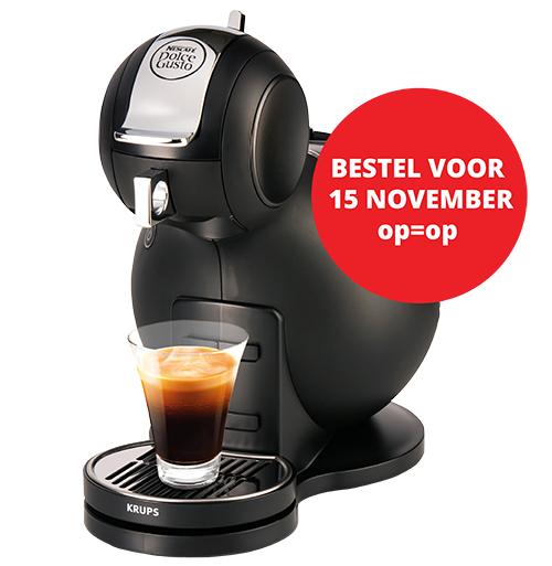 1 jaar Vara Gids + Dolce Gusto Melody 3 KP2208 (eventueel gratis koffiepakket en €40 cashback?) @ Vara
