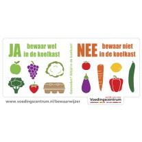 Gratis Ja-Nee Koelkaststicker @  Jumbo, Plus, Dirk, Dekamarkt en Coop
