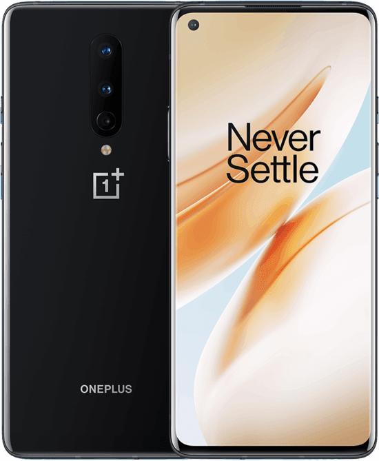 Zwarte Oneplus 8 8GB/128GB met Tele2 trucje voor €616,70