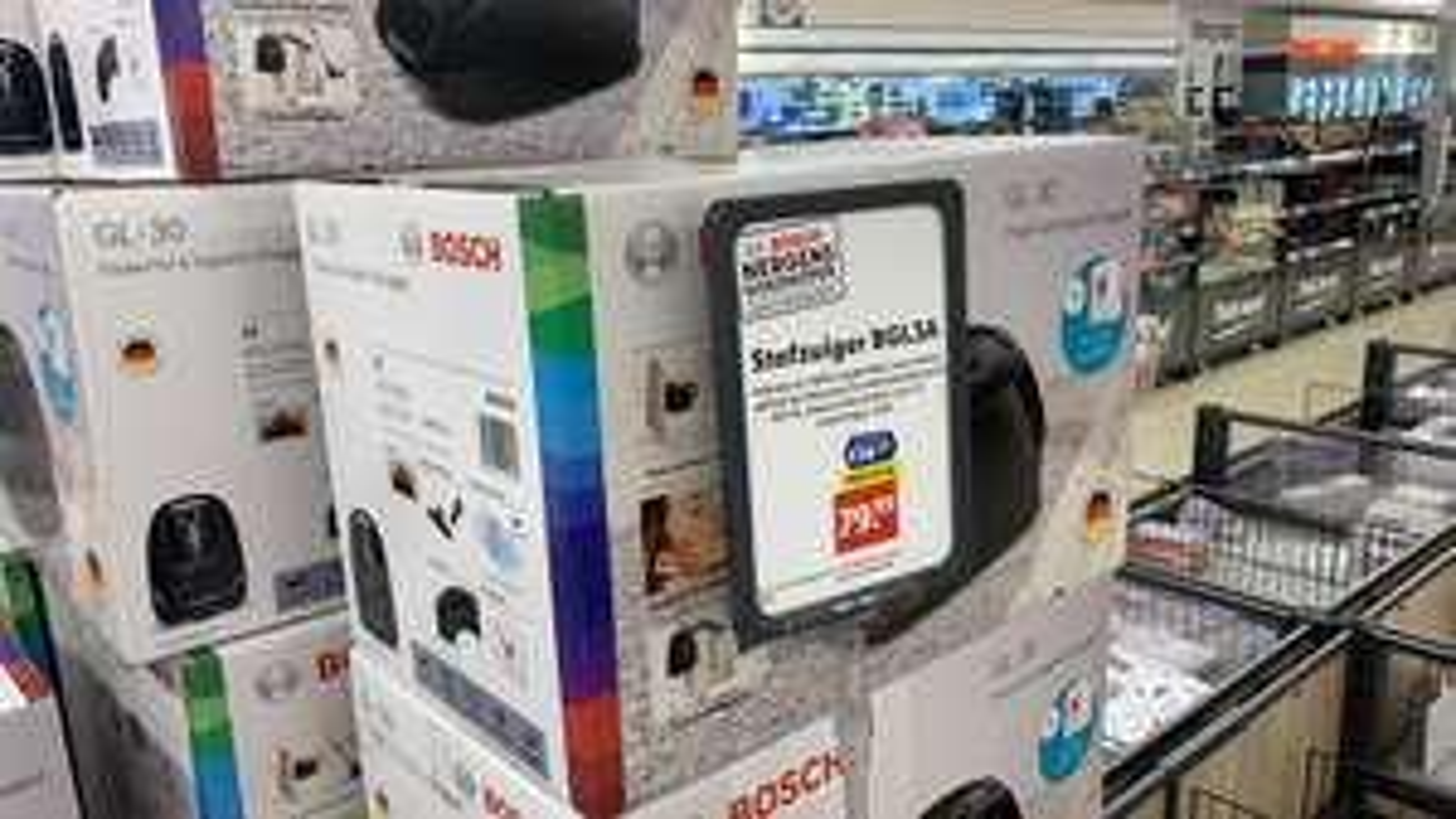 Bosch stofzuiger GL-30