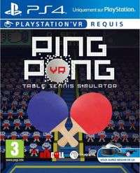 Ping Pong VR (PSVR) @ Gameshop Twente