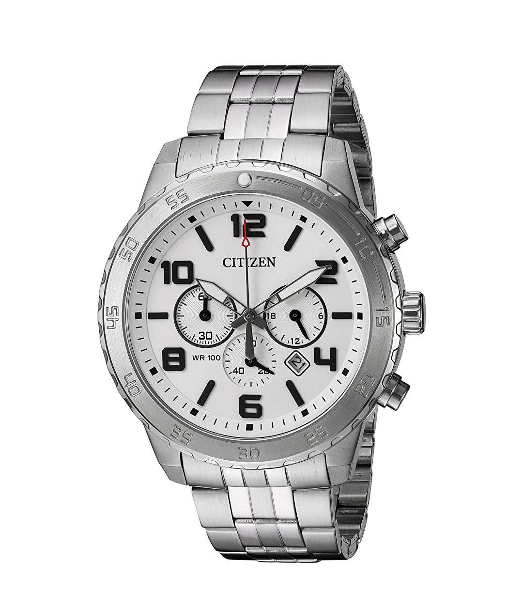 CITIZEN Analoog kwarts horloge met roestvrij stalen armband AN8130-53A [Amazon.nl]