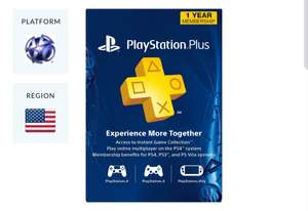 1 jaar PlayStation Plus USA dagdeal op CDKeys