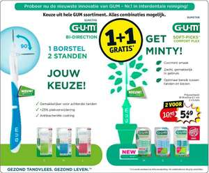 Kruidvat: Alle Gum Soft Picks 1+1 gratis