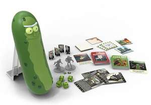 Rick and morty bordspel- the pickle rick game (aanbieding met kortingscode) @zavvi