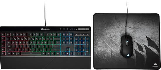 Corsair 3 in 1 Budget Gaming bundel Toetsenbord + Muis + Muismat!